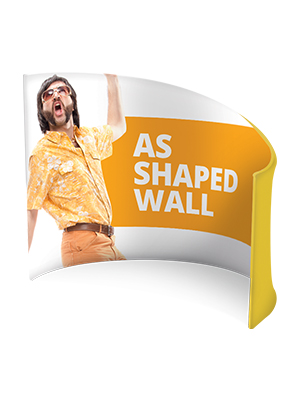 Formulate AS Shaped Wall